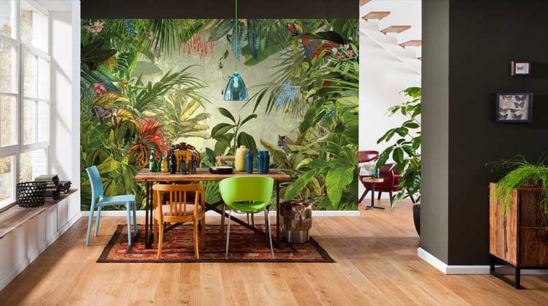 Phong cách thiết kế Tropical
