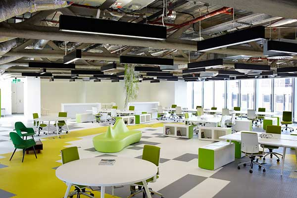 Thiết kế nội thất văn phòng làm việc theo xu hướng đa năng