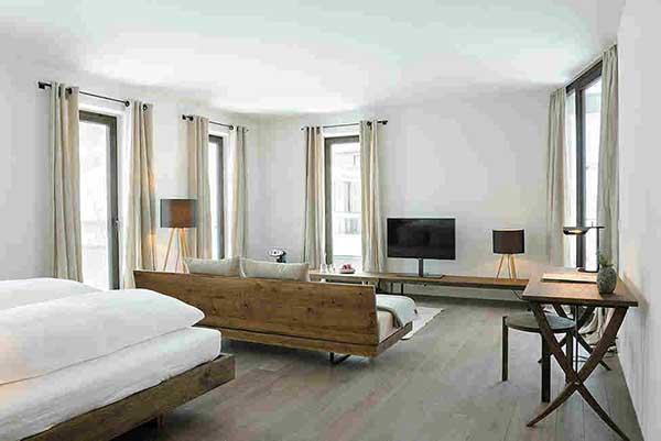 Đưa kiến trúc Đức vào phong cách thiết kế nội thất ưu tiên sự đơn giản, dứt khoát.