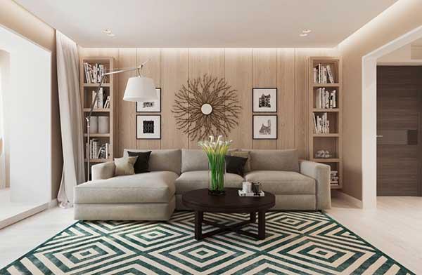 Đưa kiến trúc Đức vào phong cách thiết kế nội thất.