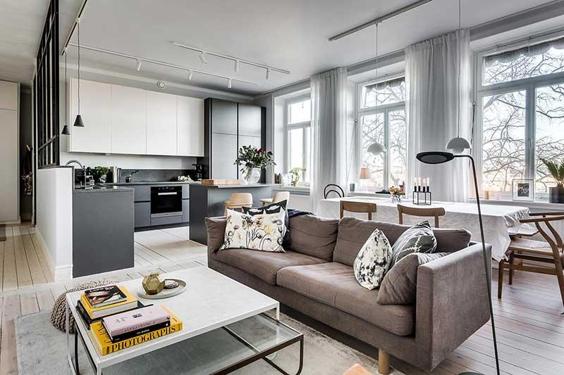 Một số lưu ý khi ứng dụng phong cách thiết kế nội thất Bắc Âu
