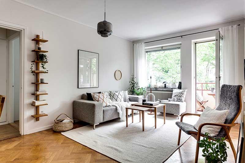 Gỗ là chất liệu được ưu tiên sử dụng trong phong cách thiết kế nội thất Bắc Âu.