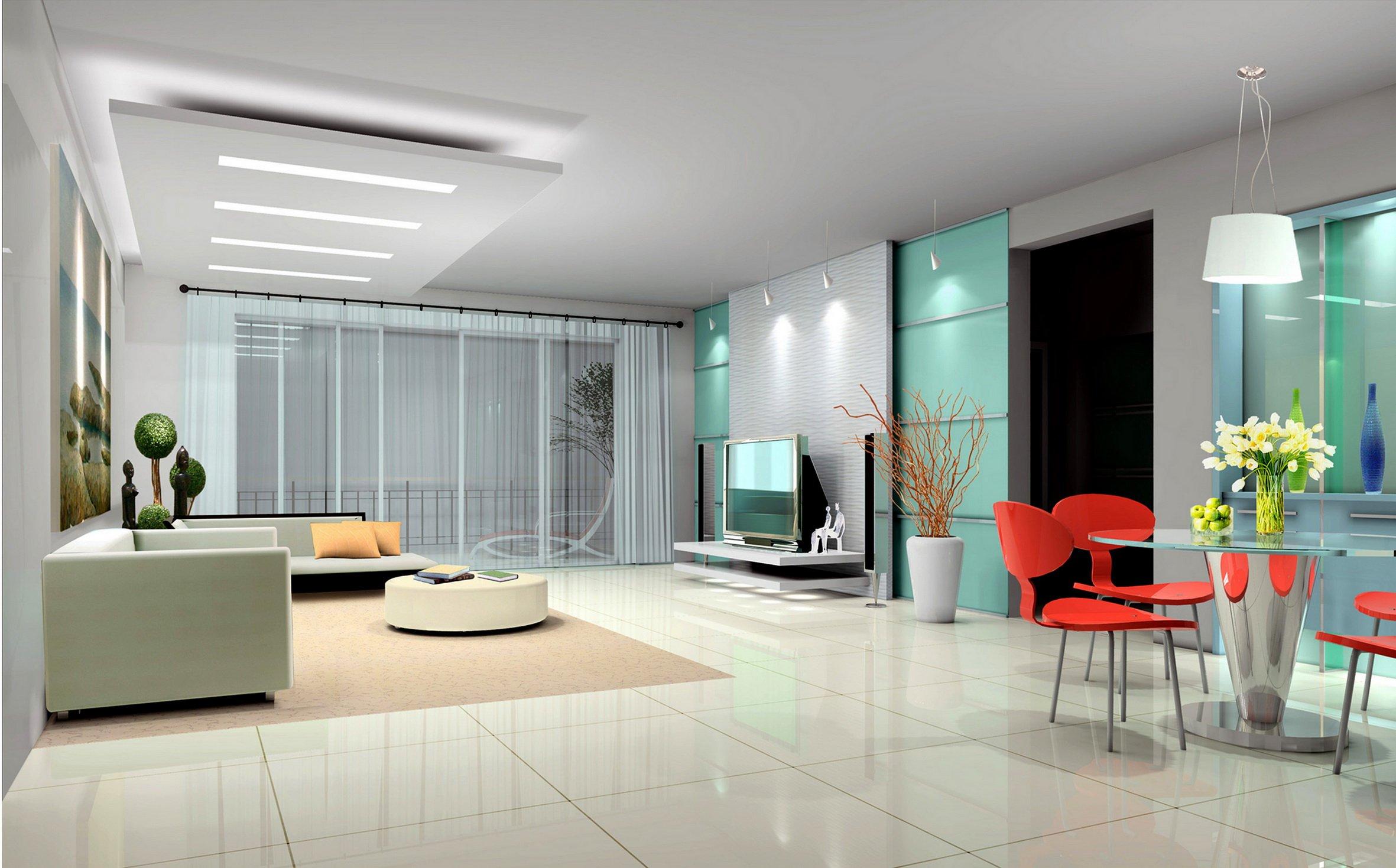 Ánh sáng trong phong cách thiết kế nội thất đương đại