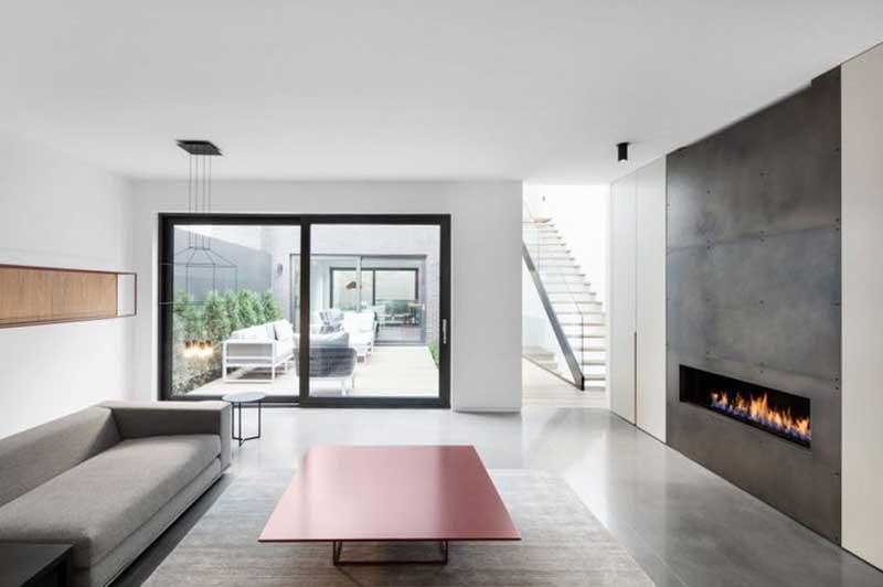 Phong cách thiết kế nội thất hiện đại chú trọng không gian mở