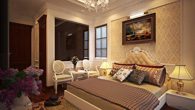 Phong cách thiết kế nội thất khách sạn tân cổ điển