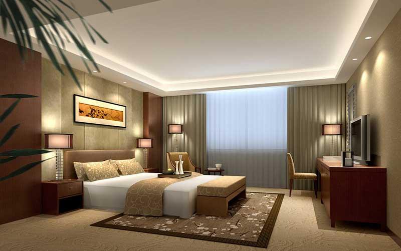 Thiết kế nội thất khách sạn cho phòng ngủ