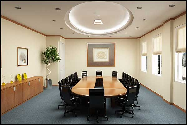 Thiết kế nội thất phòng họp cho không gian nhỏ