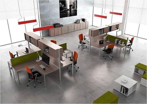 Cách bố trí văn phòng làm việc hiện đại