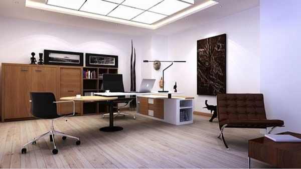 Thiết kế phòng Giám đốc nên chú ý đến nội thất