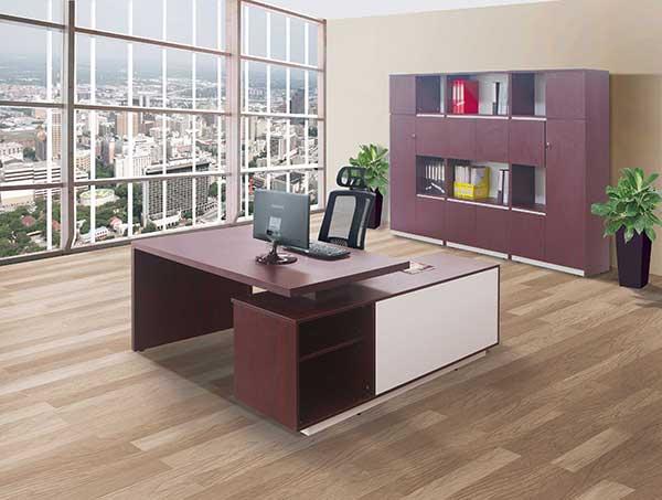 Bàn ghế làm việc văn phòng BLD07 dành cho lãnh đạo.
