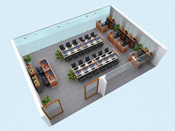 Chọn được hướng thiết kế văn phòng đẹp, tránh được hướng xấu
