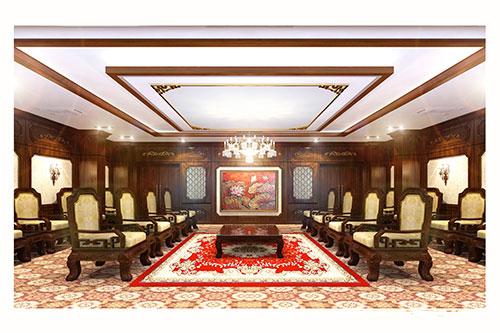 Mẫu thiết kế nội thất phòng khánh tiết KT-DG03