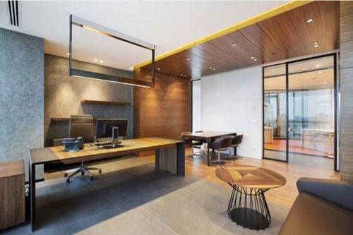Thiết kế văn phòng đẹp, hiện đại tạo cảm hưng làm việc cho nhân sự