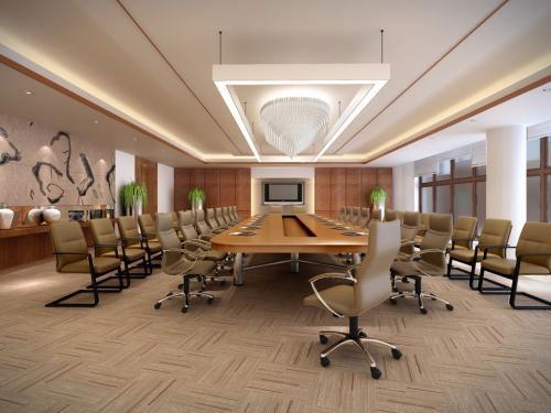 Thiết kế nội thất phòng họp cần chú ý đến hệ thống ánh sáng