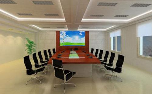 Thiết kế nội thất phòng họp cần chú ý đến yếu tố màu sắc