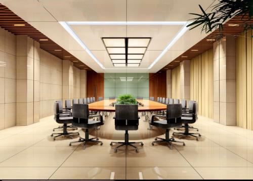 Thiết kế nội thất phòng họp đừng quên tạo ra những mảng cây xanh