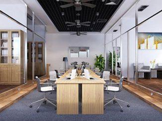 Trầm trồ trước các mẫu thiết kế văn phòng hiện đại, đẳng cấp