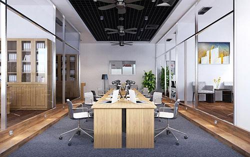 Thiết kế văn phòng hiện đại dù chi phí đầu tư thấp