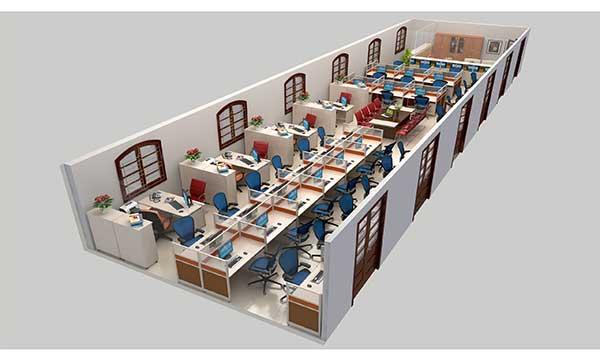 Xu hướng thiết kế nội thất văn phòng mở
