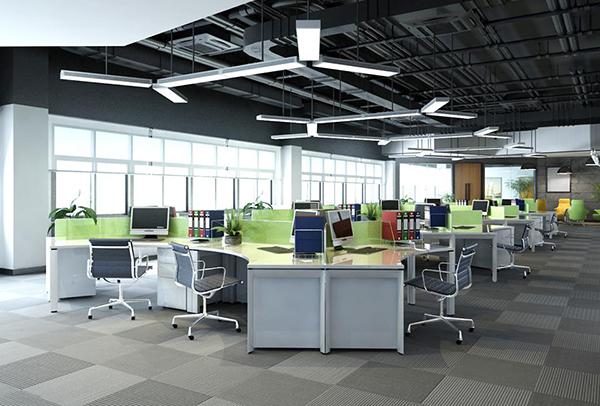 Xu hướng thiết kế nội thất văn phòng hướng đến sử dụng vật liệu thô