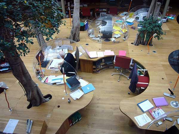 Xu hướng thiết kế nội thất văn phòng theo phong cách sáng tạo