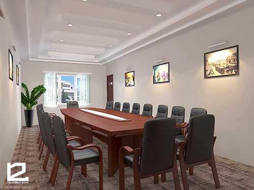 Kiểu setup phòng họp Conference
