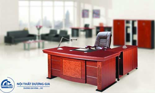 Mẫu bàn làm việc văn phòng đẹp Hà Nội DT1890H35
