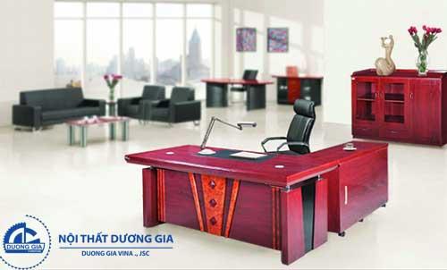Mẫu bàn làm việc văn phòng đẹp DT1890H40
