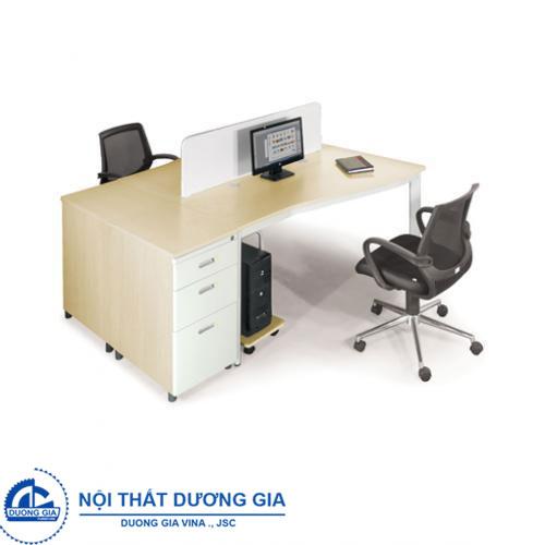 Mẫu bàn làm việc văn phòng đẹp dành cho nhân viên BZCO14-2