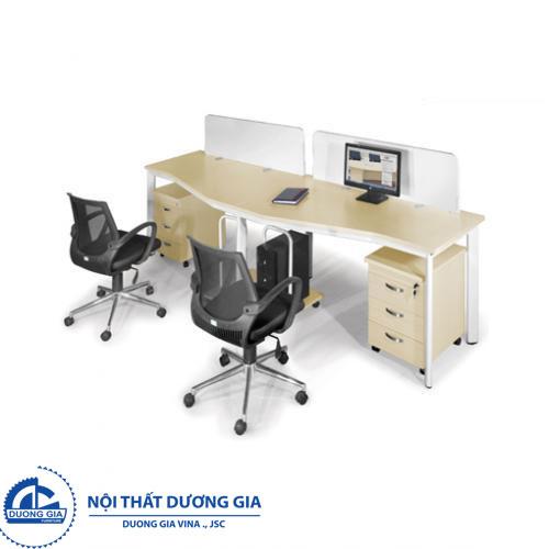 Mẫu bàn làm việc văn phòng đẹp Hà Nội BZCO14-2A