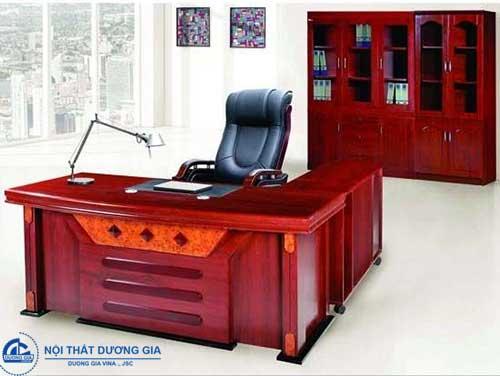 Mẫu bàn làm việc văn phòng đẹp Hà Nội DT1890H31