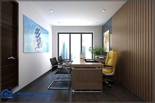 Lựa chọn nội thất phù hợp trong trang trí phòng làm việc của sếp