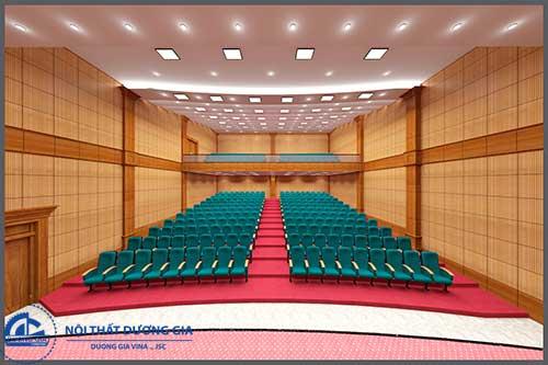 Trang trí hội trường cơ quan - Khu vực dành cho khán giả