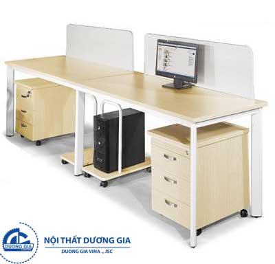 Mẫu bàn làm việc văn phòng đẹp BCO14-2A