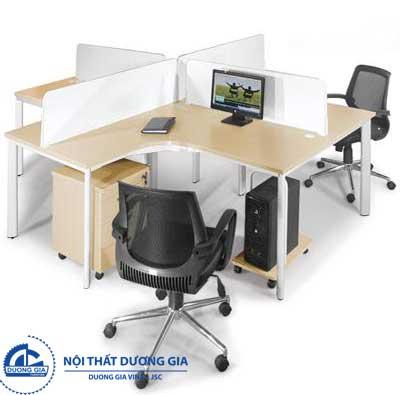 Mẫu bàn văn phòng cao cấp, đẹp BLCO14-4
