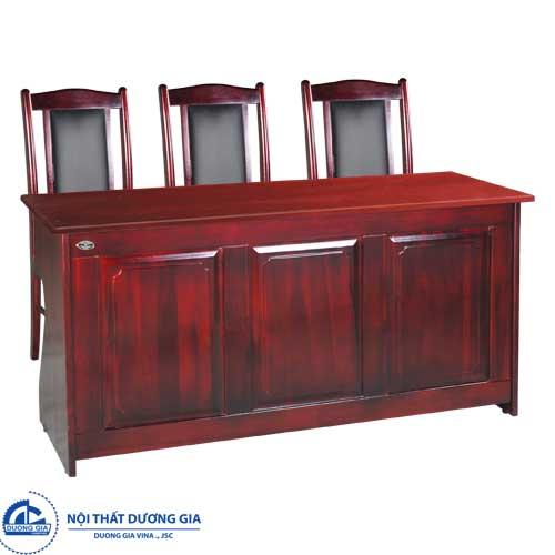 Mẫu bàn ghế hội trường cao cấp bằng gỗ tự nhiên BHT12DH2