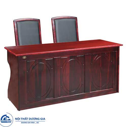 Mẫu bàn ghế hội trường gỗ tự nhiên đẹp BHT12DH4+GHT10
