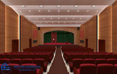 Mẫu thiết kế hội trường sang trọng 2