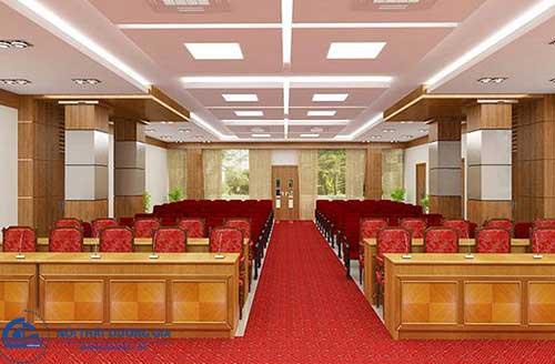 Thiết kế nội thất hội trường HT-DG14