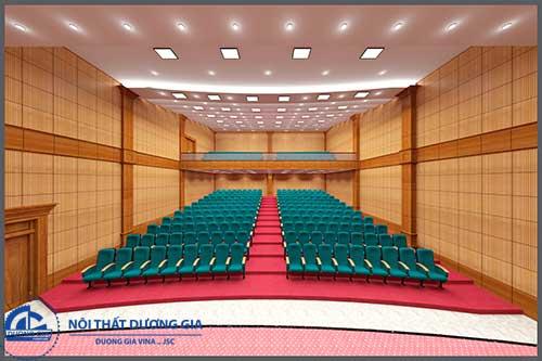 Thiết kế nội thất hội trường hiện đại HT-DG22
