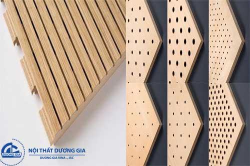 Vách gỗ tiêu âm cao cấp