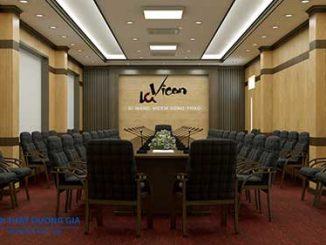 Tiêu chuẩn thiết kế phòng họp cần đồng bộ trong phong cách