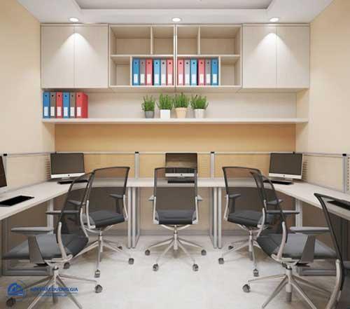 Mẫu thiết kế văn phòng công ty nhỏ đơn giản