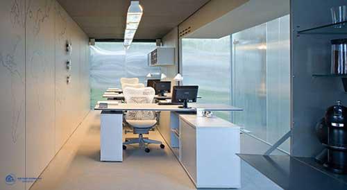 Mẫu thiết kế văn phòng công ty nhỏ đẹp với phong cách hiện đại