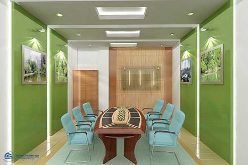 Thiết kế văn phòng 30m2 đẹp, hiện đại