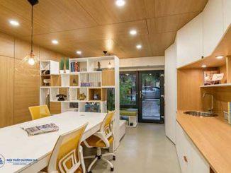 Top 7 mẫu thiết kế văn phòng làm việc công ty nhỏ đẹp nhất 2018