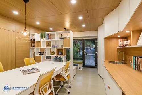 Mẫu thiết kế văn phòng làm việc diện tích nhỏ hiện đại