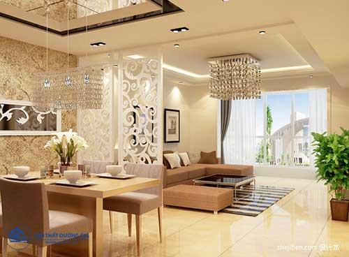 Mẫu vách ngăn nội thất với vẻ đẹp hiện đại cho phòng khách, phòng ngủ