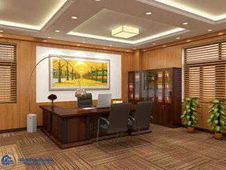 Đồ nội thất phòng Giám đốc cần phải đảm bảo những yếu tố gì?
