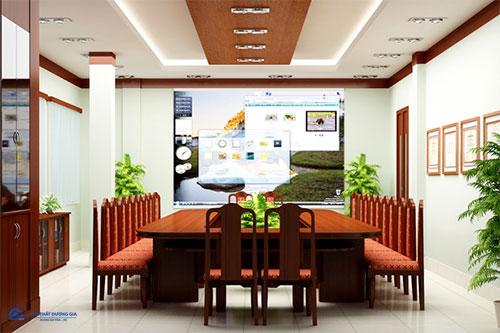 Báo giá bộ bàn ghế họp văn phòng phụ thuộc vào đơn vị cung cấp